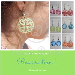 Boucles d'oreilles Résurrection
