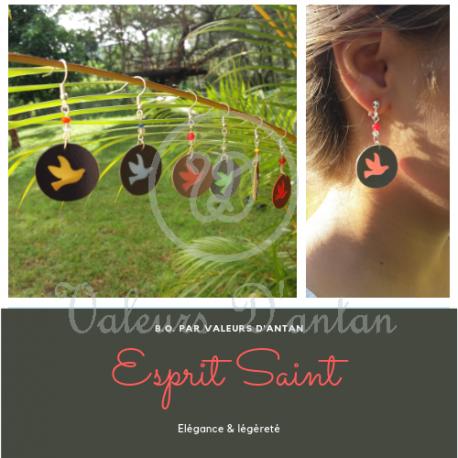 Boucles d'oreilles Esprit Saint
