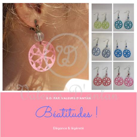 Boucles d'oreilles Béatitudes