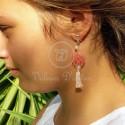 Boucles d'oreilles Temoin du Christ
